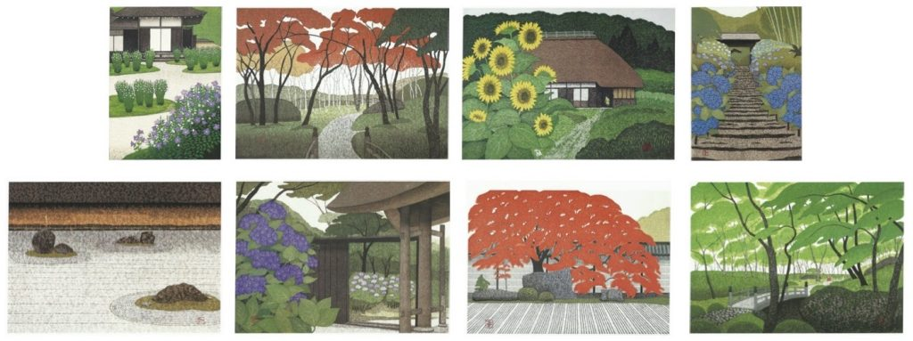 Kazayuki Ohtsu (Japanese woodblock artist, born 1935)